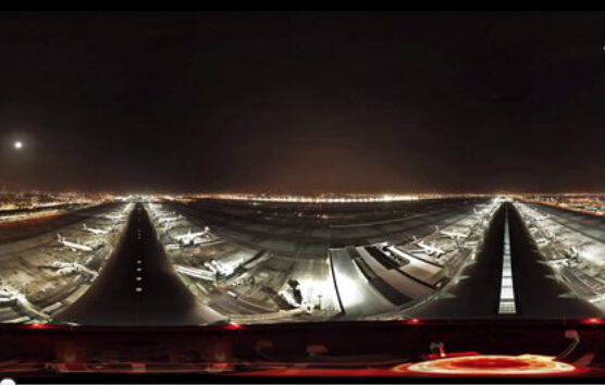 360度全景透视世界最繁忙机